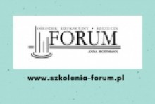 Logo Ośrodek Edukacyjny FORUM Anna Hoffmann