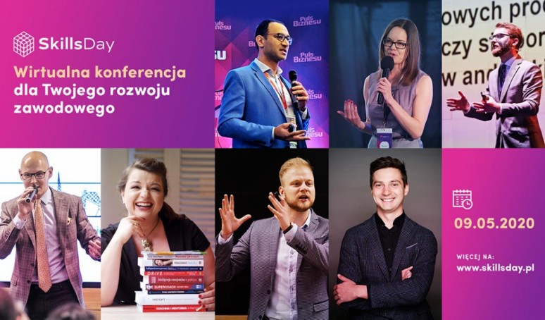 Skills Day - wirtualna konferencja poświęcona rynkowi pracy