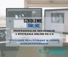 Profesjonalne Negocjacje Handlowe - Szkolenie ONLINE intensywne szkolenie 4 spotkania online po 2 h
