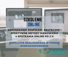 Zarządzanie Zespołem - Szkolenie ONLINE intensywne szkolenie 4 spotkania online po 2 h