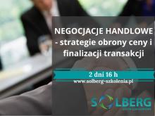 Szkolenie Online / Zdalne. NEGOCJACJE HANDLOWE- strategie obrony ceny i finalizacji transakcji