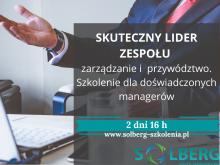 Szkolenie Online / Zdalne. Skuteczny Lider Zespołu - zarządzanie i przywództwo