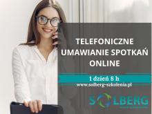 21 kwietnia szkolenie ONLINE / Zdalne. Telefoniczne Umawianie Spotkań