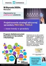 Projektowanie strategii aktywnej sprzedaży PRO SELL TOOLS - nowe trendy w sprzedaży